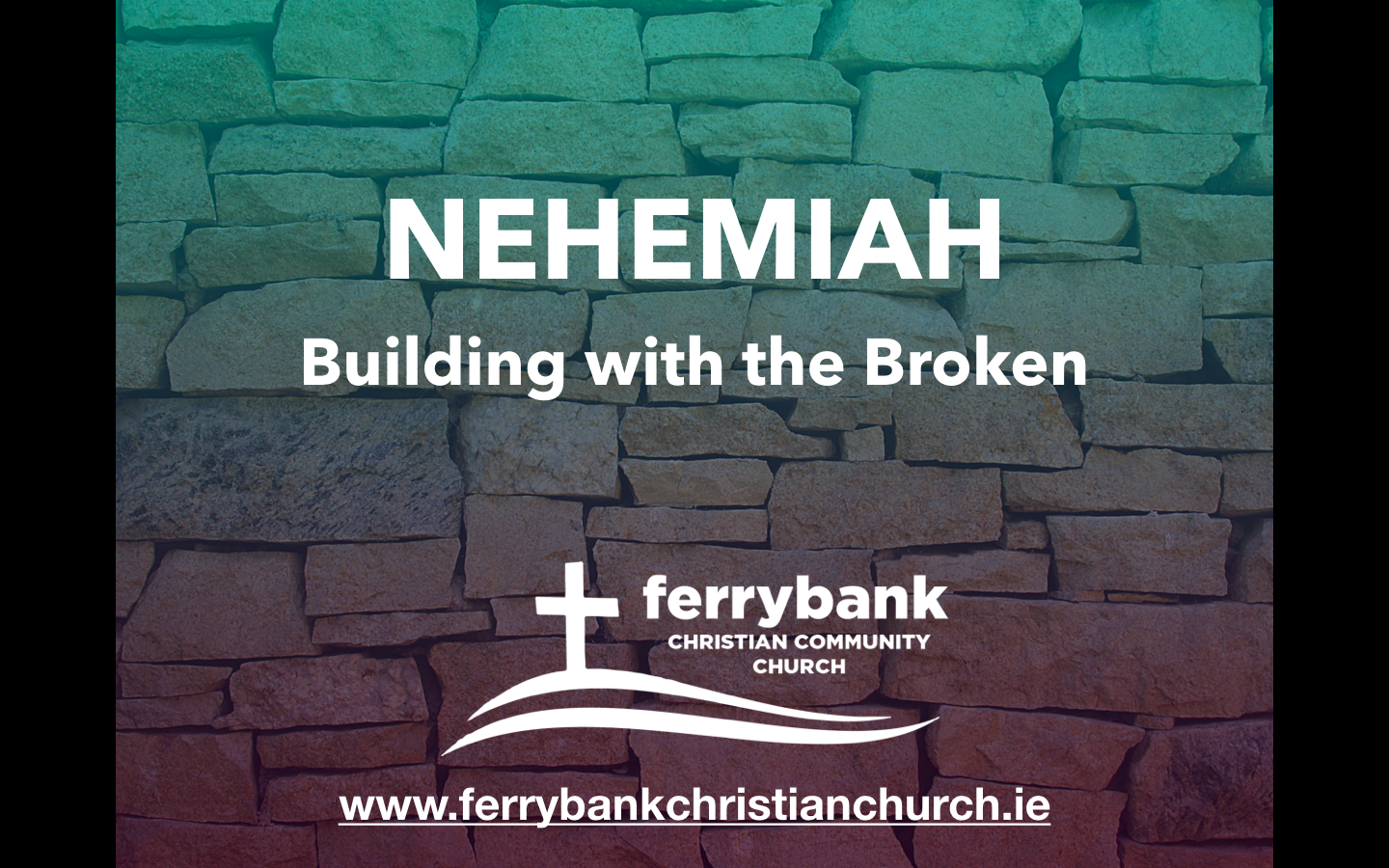 Nehemiah 3 Build Your Kingdom Here!