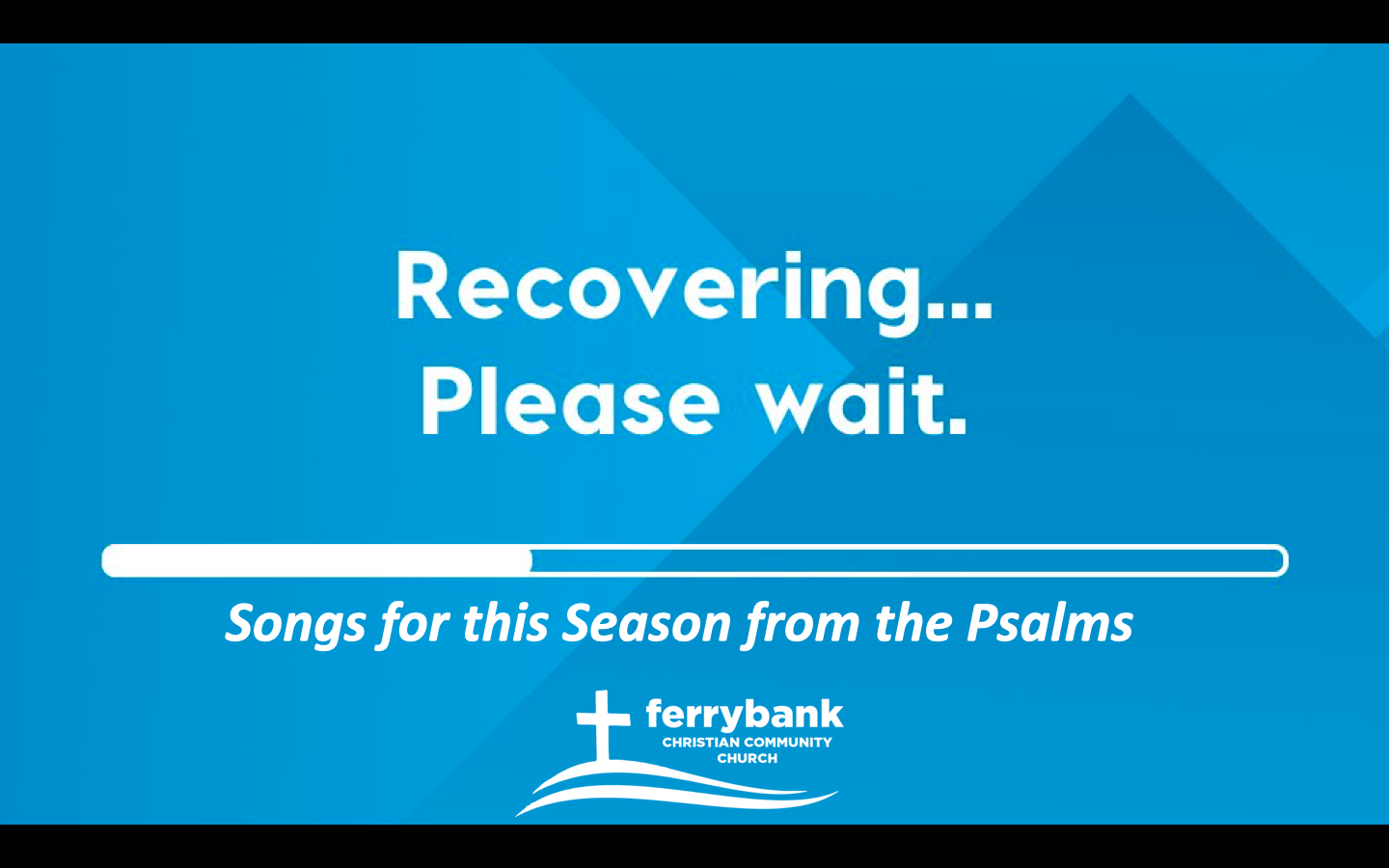 Recovering Church #1- with Thanks- Psalm 100