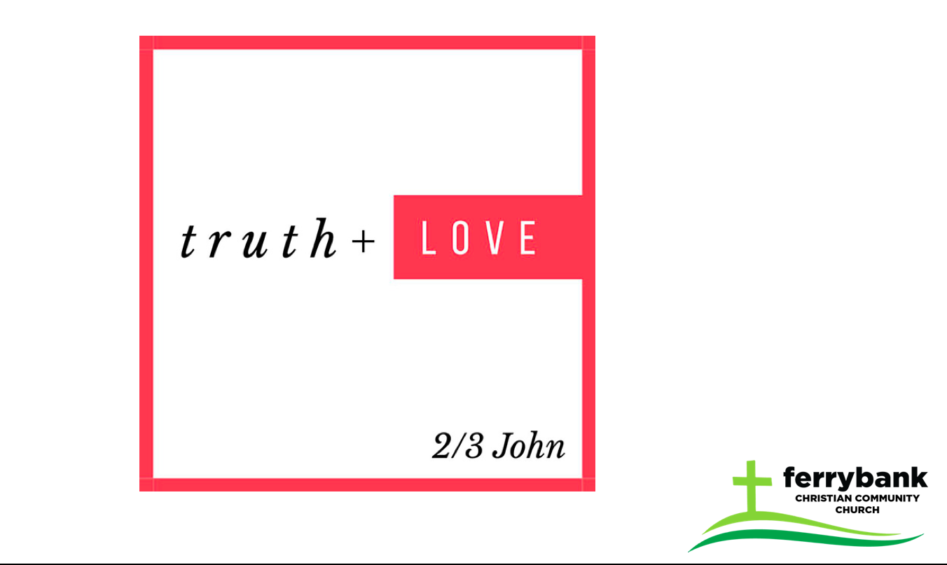 Guarding the Truth in Love: Our Convictions: 2 John 7-9